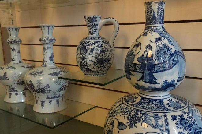 Salle des céramiques de Delft