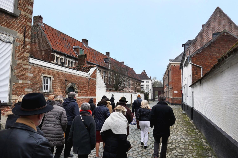 Les Amis des Musées visitent le béguinage de Lier