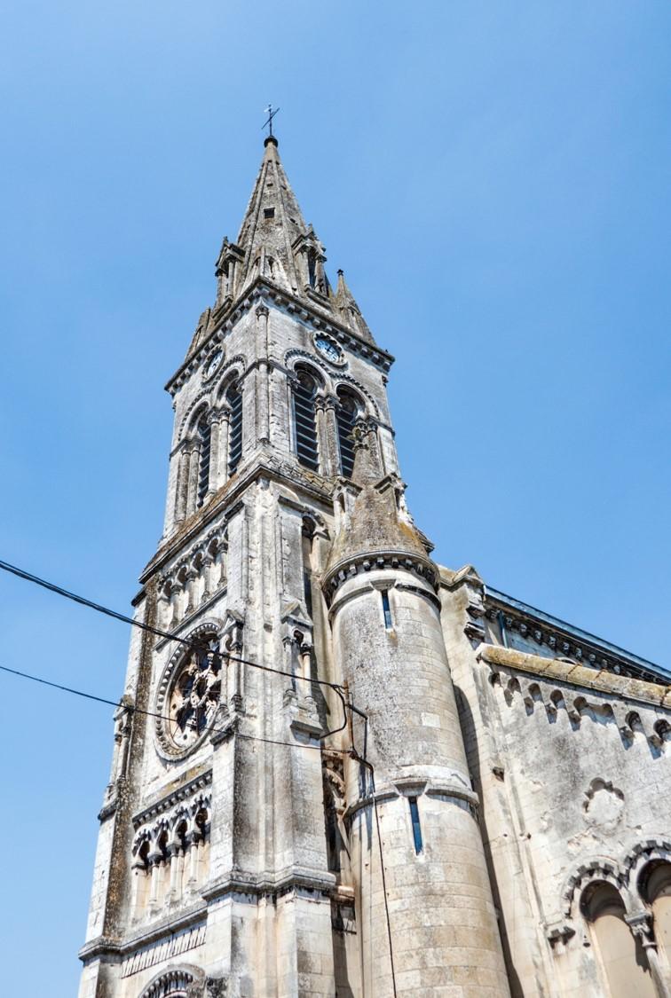 Sainte-Colombe Blendecques 1858-1870 par Charles Leroy