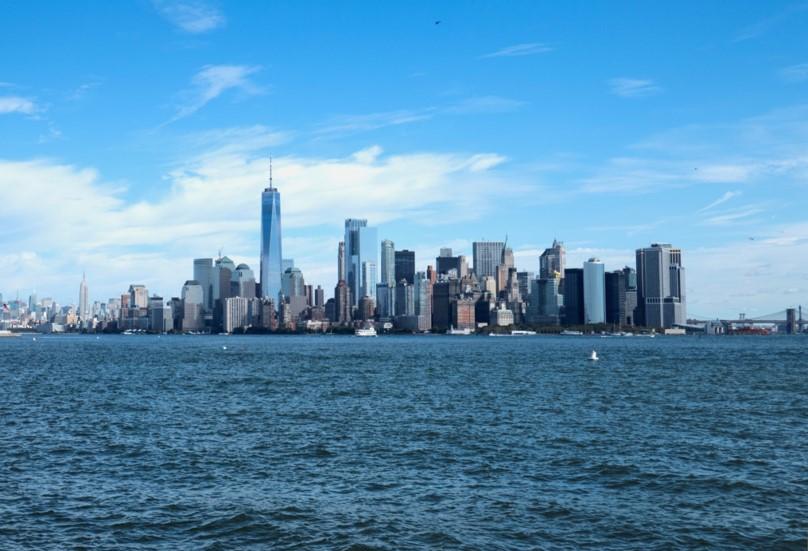 Le sud de Manhattan dominé par le nouveau One World Trade Center