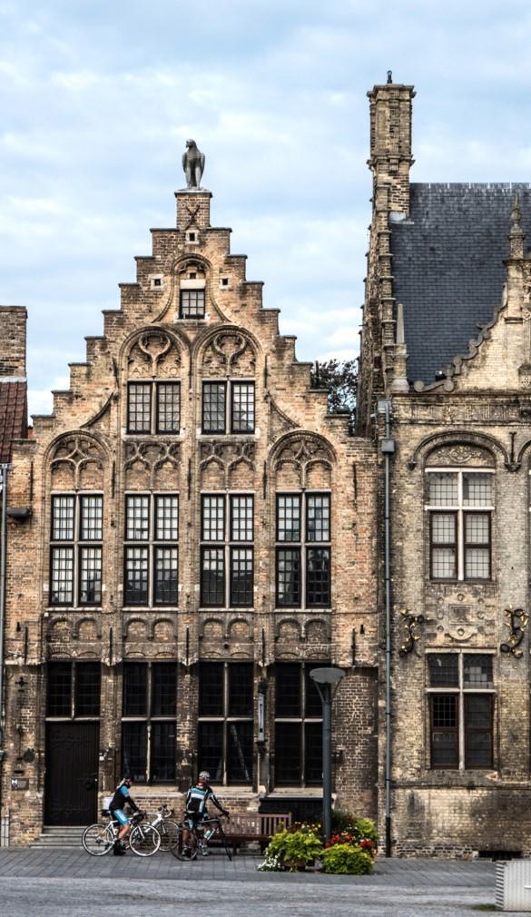 maisons flamandes de la Grand-Place