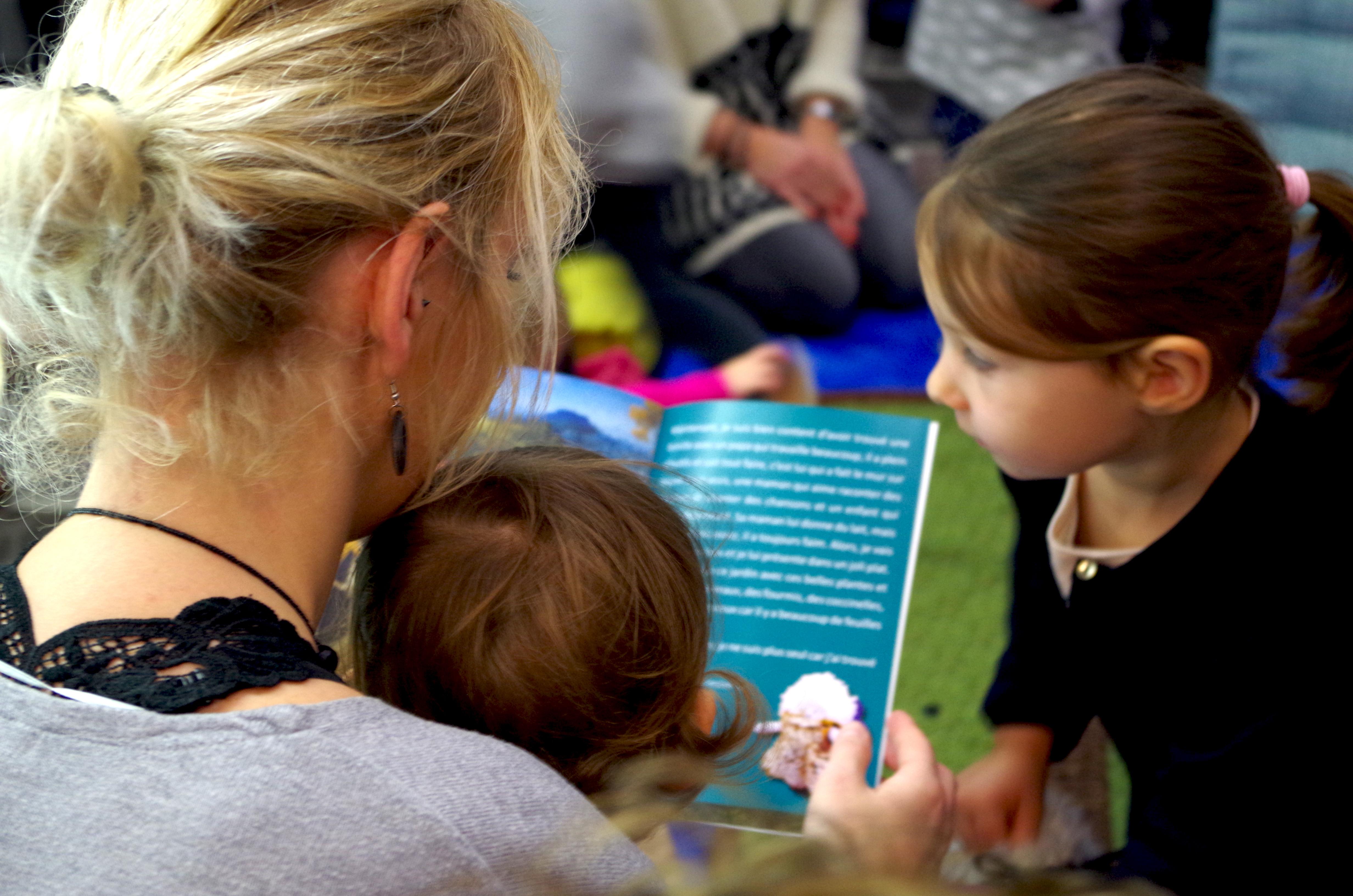Activités avec les enfants au musée Sandelin