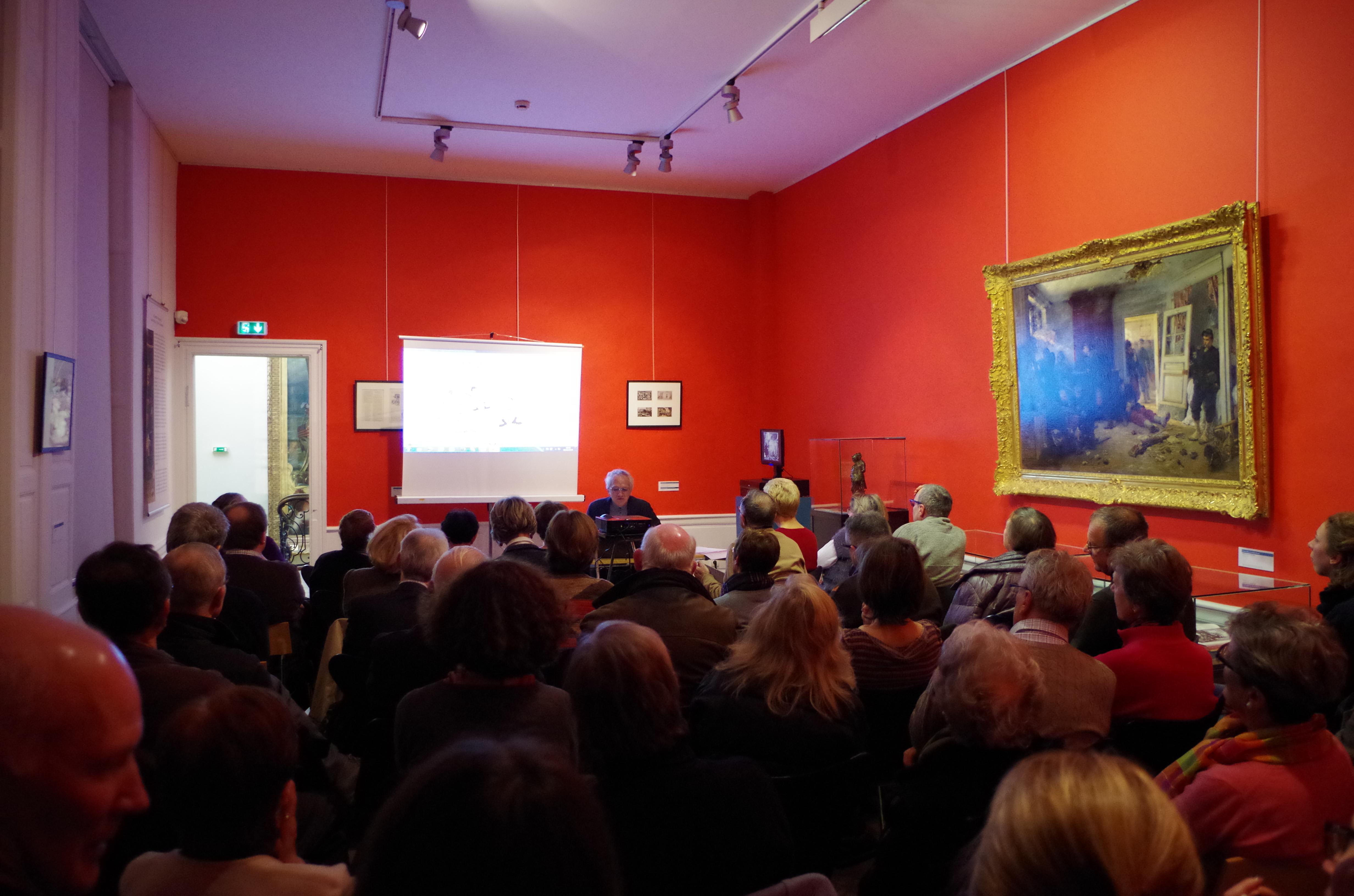Conférence au musée Sandelin