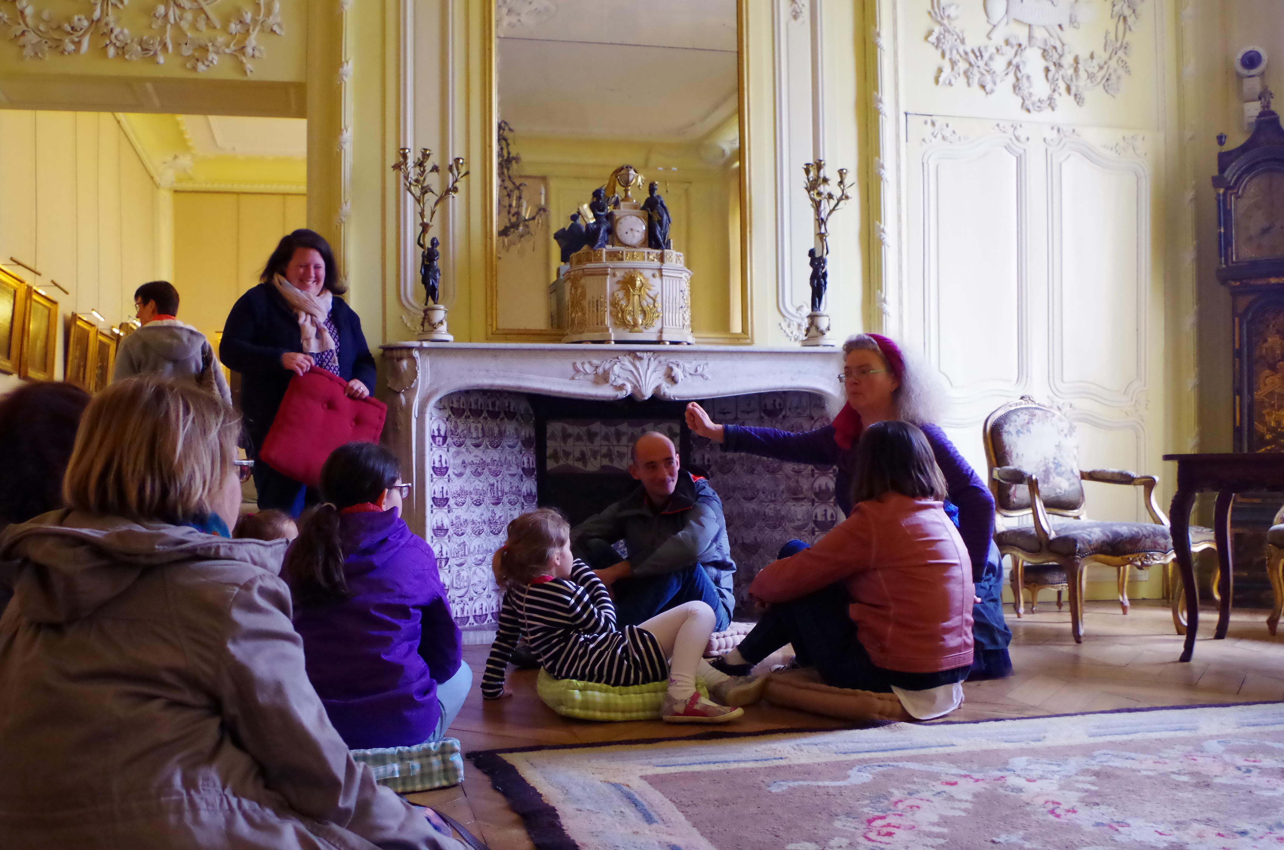 Conte visiteurs du musée Sandelin