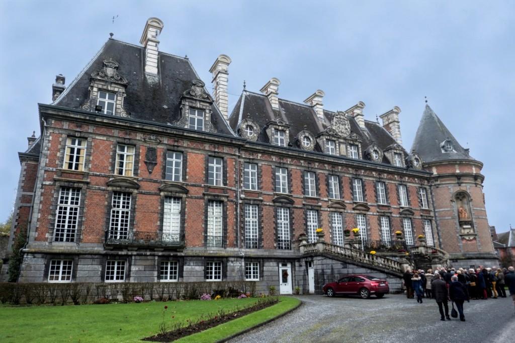 Le château de Merode à Trélon