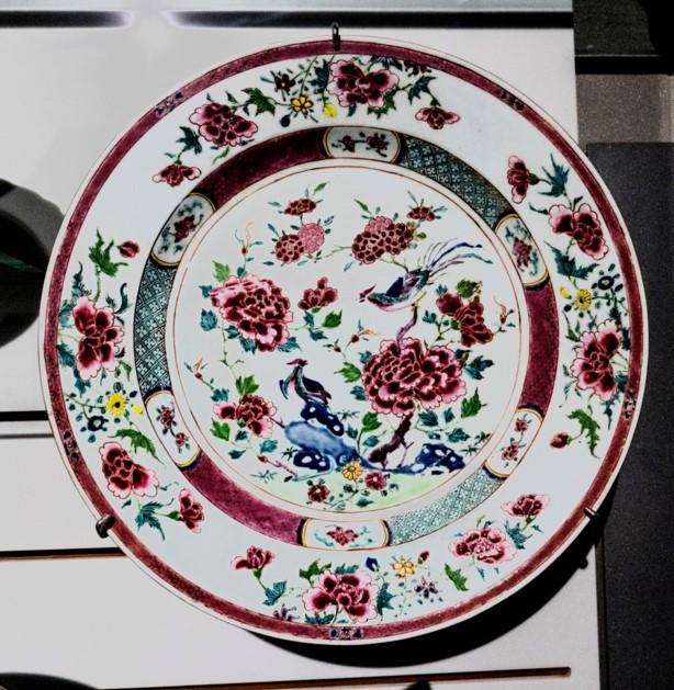 Porcelaine dure JINGDEZHEN - Chine (1745)
