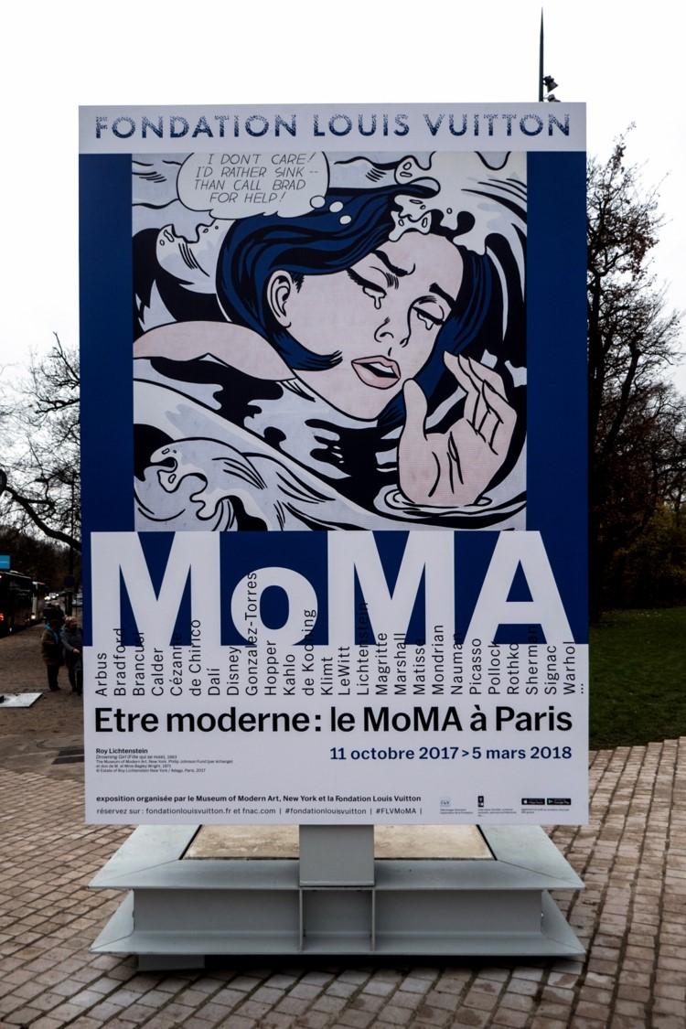 MoMA = Musée d'Art moderne de New York expose l'art contemporain à la Fondation Louis Vuitton de Paris