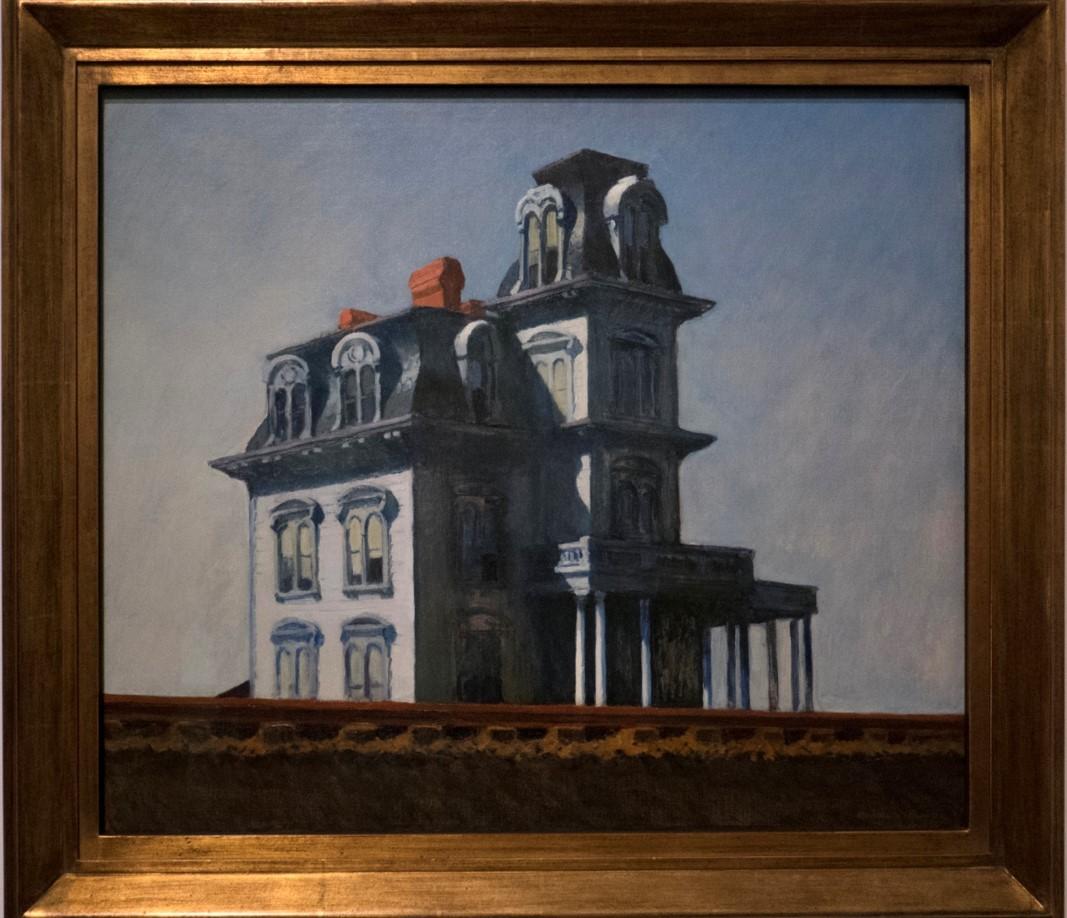 Edward Hopper, Maison près de la voie ferrée (1925)