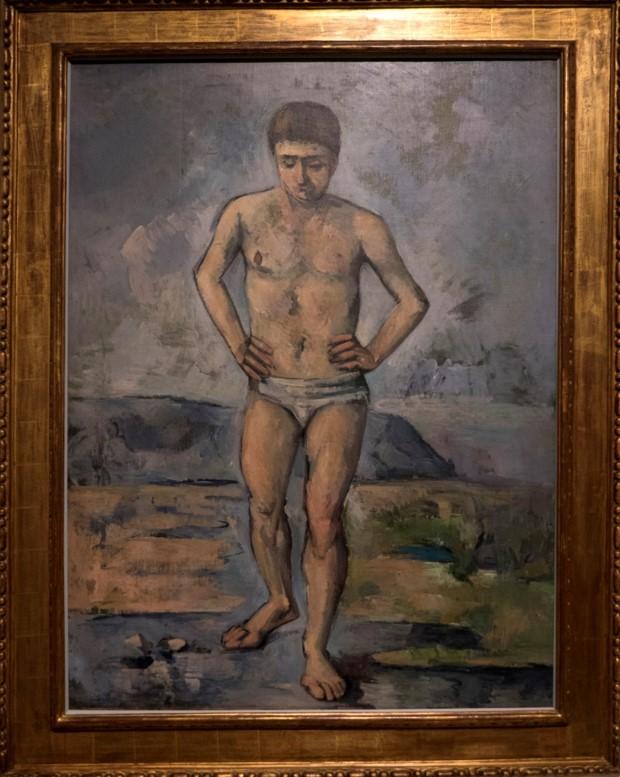 Paul Cézanne Le Baigneur (1885)