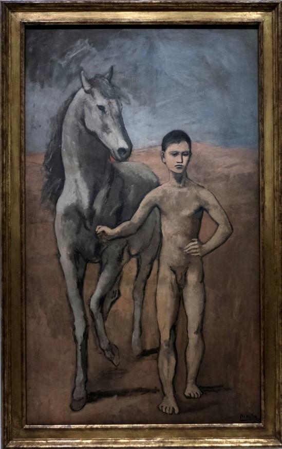 Pablo Picasso Le Meneur de cheval (1905)