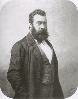 Jean-François MILLET (1814-1875) photographié par Nadar