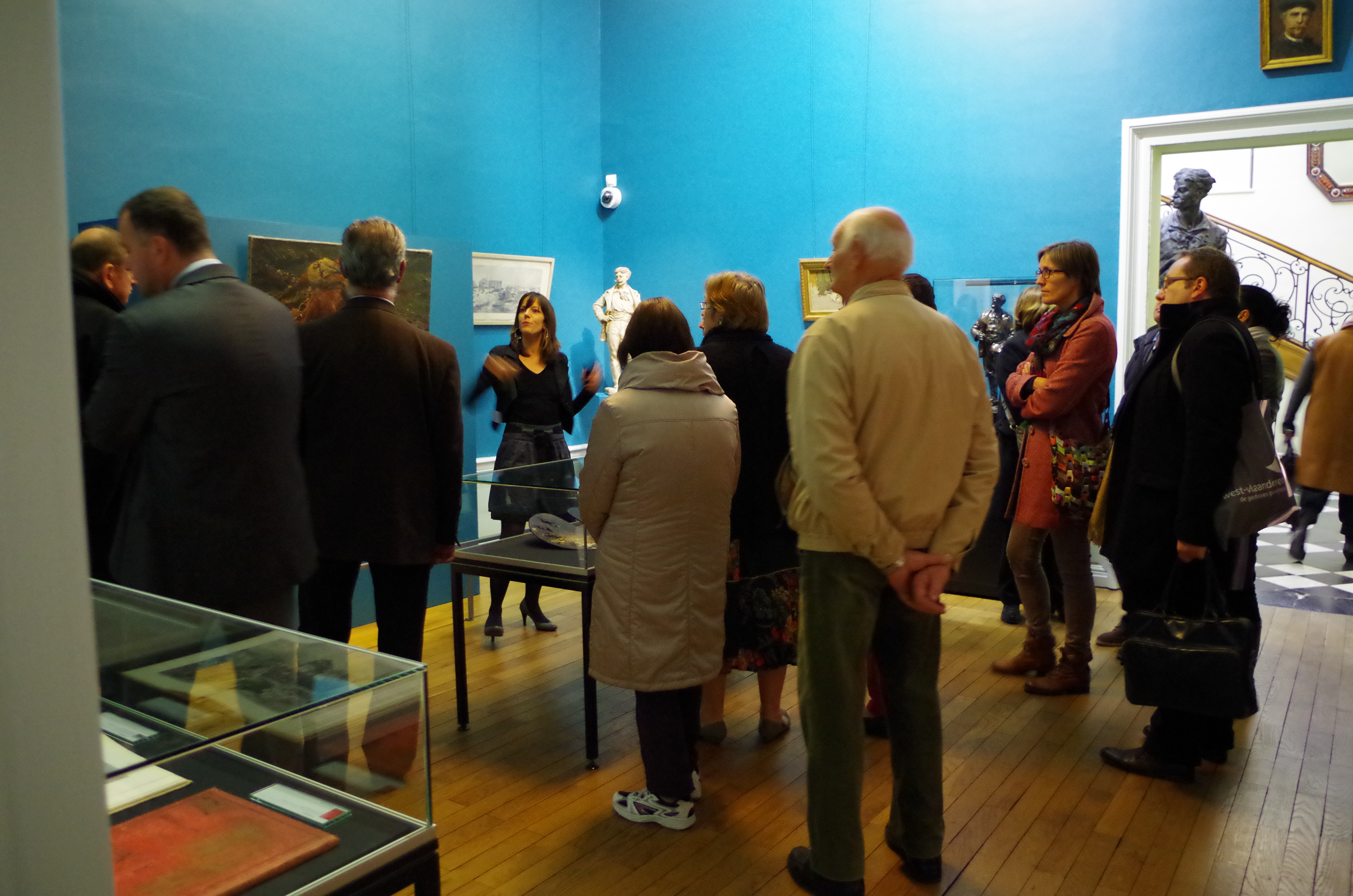 Visite du musée Sandelin